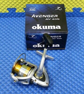 NEW Okuma AV-8000 Avenger Spinning Reel 6+1 BB 20lb//225yd