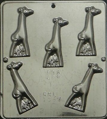 Baby Giraffe Chocolate Candy Mold 1347 Baby Shower Favor (Baby Candy Molds)