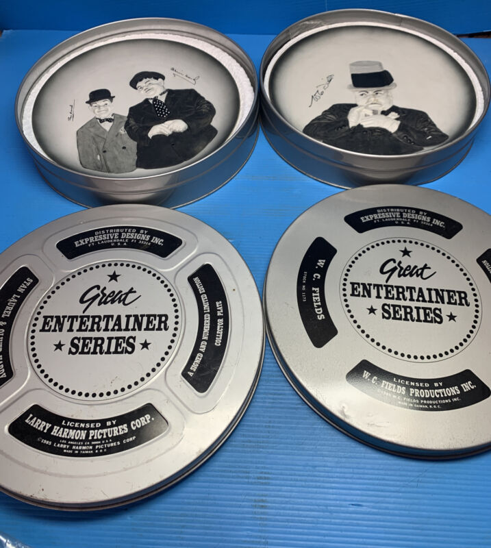 Great Entertainer Series Collector Plates