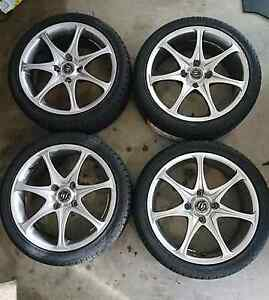"17"" ROTA WHEELS WITH BRAND NEW TYRES Benowa Gold Coast City Preview"