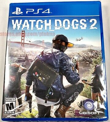 Used, WATCH DOGS 2 Brand New Sealed PS4 Game PlayStation 4 USA Release Ubisoft for sale  Shipping to Nigeria