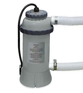 Intex 3kw Swimming Pool Easy Set Up Heater For Pools Up To 15ft 28684 Ebay