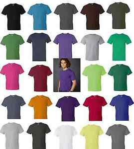 anvil ringspun fashion fit mens cotton t shirt 980 28