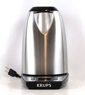 Krups BW3140 Savoy Adjustable Temperature Electronic Kettle