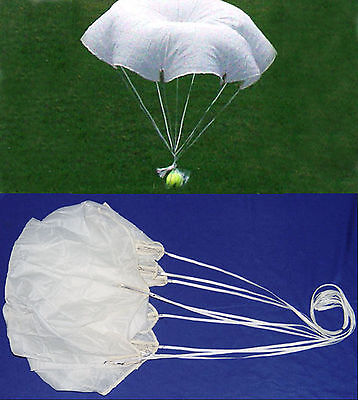 """One Military Flare Parachute 36"""" NEW  USA- 4 Rockets and RC"""
