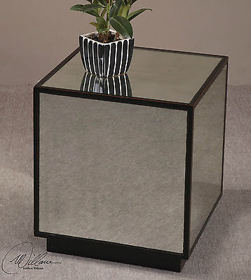Mirror Cube Table - NEW MODERN 18