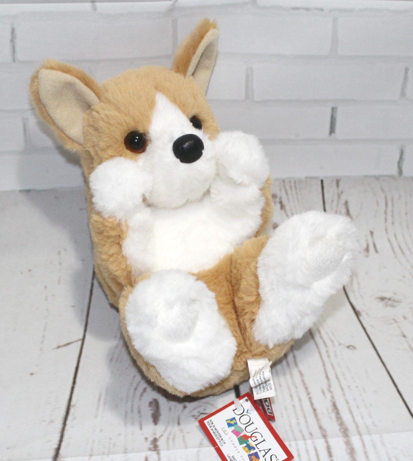 "Corgi Stuffed Animal 9"""