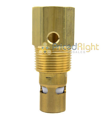 1 Male Npt X 34 Female Npt Air Compressor In Tank Check Valve Brass