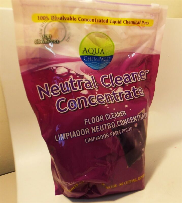 Aqua ChemPacs Neutral Cleaner Concentrate Floor Cleaner / 100 Pacs