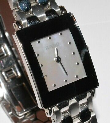 Women's RADO Diastar Stainless Steel Watch w/ Mother of Pearl Dial! 153.0488.3!