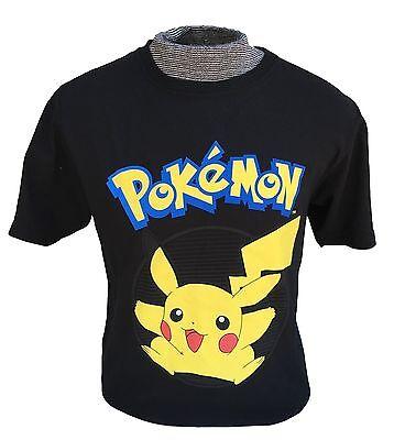UNISEX POKEMON GO Shirt Black Pikachu Tee T-Shirt S M L Valor Mystic - Pikachu T Shirt