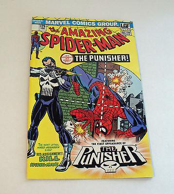 Amazing Spider Man  129 Lions Gate Films Punisher Reprint Lgf Marvel
