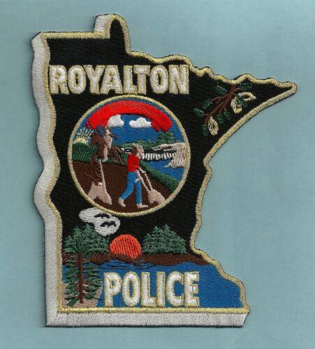 ROYALTON MINNESOTA POLICE SHOULDER PATCH