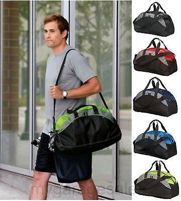 Medium Duffel Gym Bag Workout Sport Travel Carryon Athletic Port   Co  Bg1070