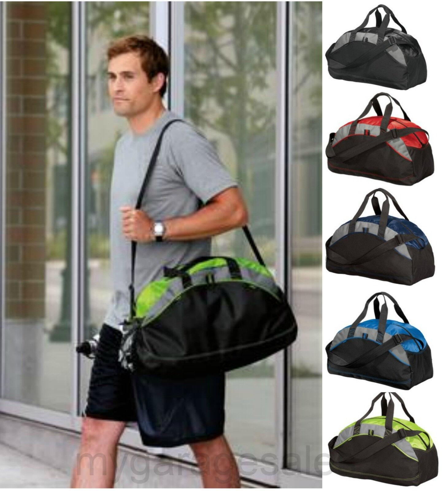 Medium Duffel Gym Bag Workout Sport Travel Carryon Athletic