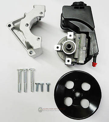 10 12 Ls3 6 2L Camaro Ps Power Steering Pump Conversion For Electric Steering