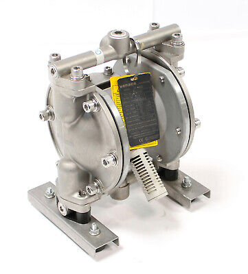 Yamada Dp-10bst Air Powered Double Ptfe Diaphragm Aodd Pump 38 Stainless Steel