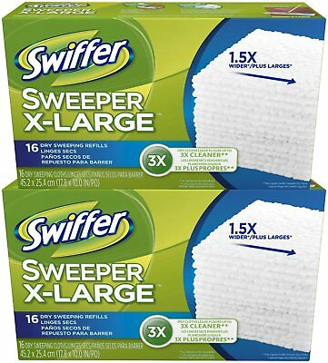 Swiffer Sweeper X-Large Dry Sweeping Cloths Refill - 16 ct -