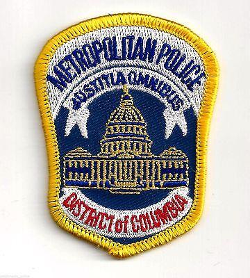 WASHINGTON DC - METROPOLITAN POLICE - IRON ON PATCH