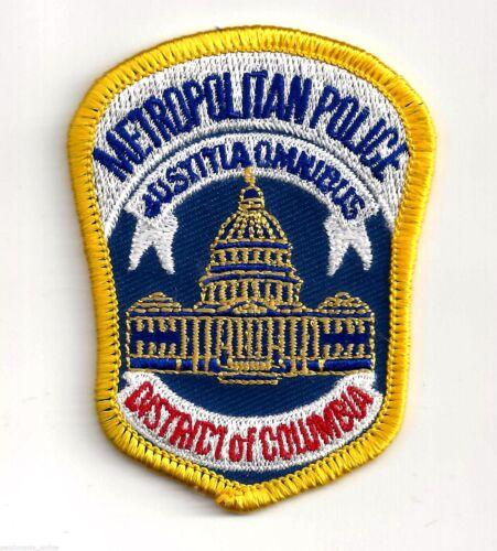 WASHINGTON DC - METROPOLITAN POLICE - SMALL SHOULDER - SEW or IRON ON PATCH