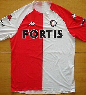 2006/07 Feyenoord Netherlands Kappa Size L Football Shirt Jersey  image