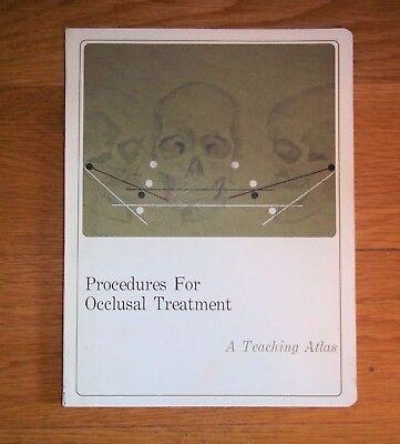 Denar Dental Procedure Occlusal Treatmt Book Whip-mix Waterpik Articula Manual