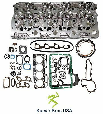New Kumarbros Usa Bobcat 5600 Kubota V2203 Complete Cyl Head Full Gasket Set