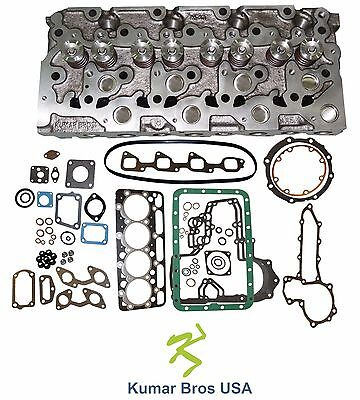 New Kumarbros Usa Bobcat 341 Kubota V2003 Complete Cyl Head Full Gasket Set