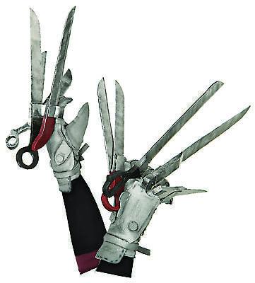 Scissorhands Gloves (Edward Scissorhands Deluxe Gloves  Costume)