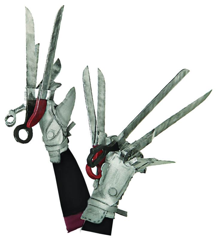 Edward Scissorhands Deluxe Gloves  Costume Accessories