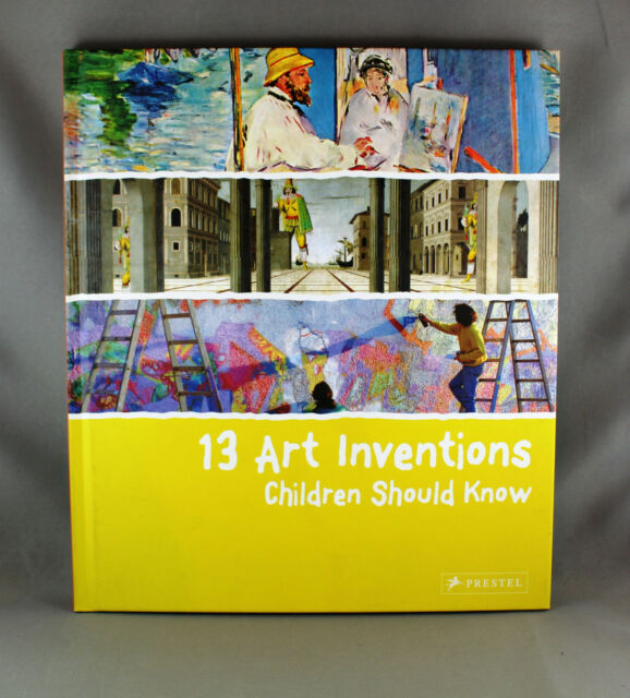 13 Art Inventions Children Should Know by Florian Heine - Brand New Hardcover