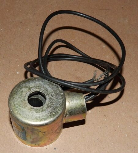 """Solenoid Coil Assembly with Junction Box 1/2"""" Shaft 110 Volt 1/2"""" NPT USA 168P"""