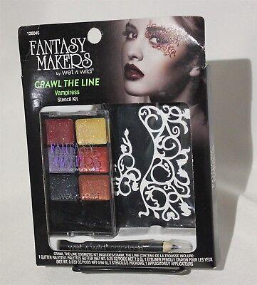 Spirit Halloween Vampiress Makeup Kit Wet N Wild Crawl The Line - Vampiress Makeup