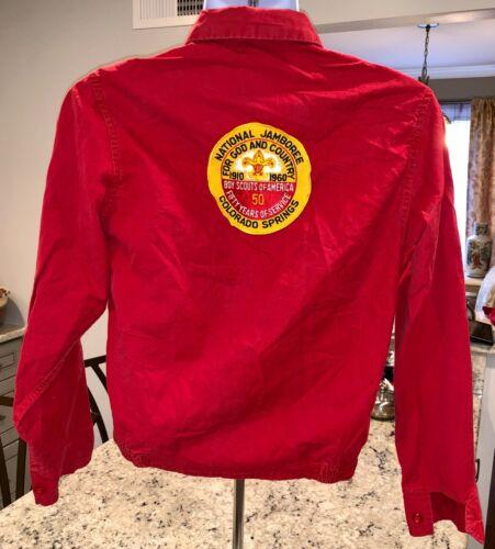 1910 1960 BSA Boy Scout National Jamboree Colorado Springs 50 Years Jacket