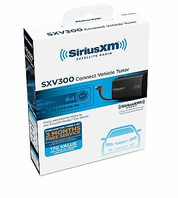 Siriusxm Sxv300v1 Connect Vehicle Tuner Kit For Satellite Radio 10