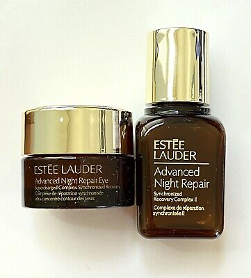 Estee Lauder ADVANCED NIGHT REPAIR Complex ll Face Serum 15ml & Eye Cream 5ml