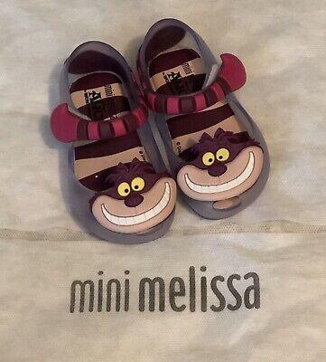NEW Toddler 5 Mini Melissa Alice In Wonderland Cheshire Cat Mary Jane Shoes