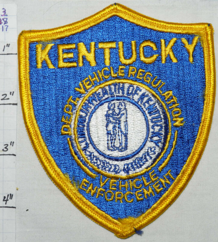 KENTUCKY DEPT VEHICLE REGULATION & ENFORCEMENT POLICE PATCH