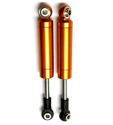 75003OR 1/10 Off-Road sin Resorte Amortiguador Aleación 80mm Long Naranja