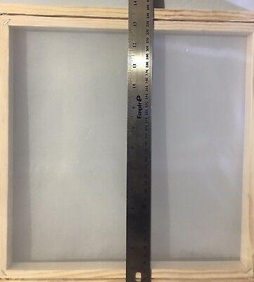 Silk Screen Printing Frame. 14 X 14 180 Mesh. Re-meshable. Cord Locked