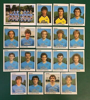LOTTO DI 19 FIGURINE ALBUM CALCIATORI CALCIO FLASH 84 1983-84 NAPOLI COMPLETA