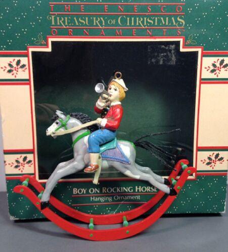 Enesco Rocking Horse Ornament 1987