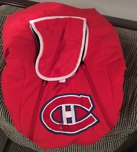 Montreal Canadians baby car seat cover
