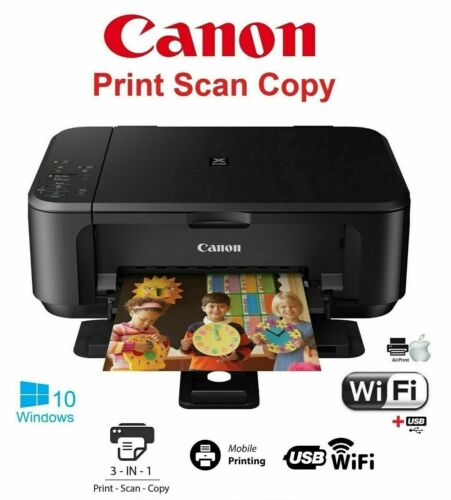 Canon PIXMA MG3620 Home Office Wireless All-In-One Inkjet Printer, INK INCLUDED