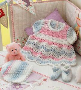 Crochet Baby Dress Pattern Ebay