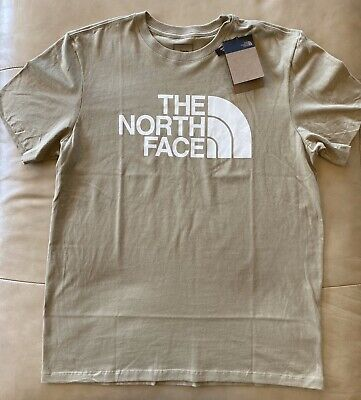 The North Face Men's Half Dome Tee Beige Large NWT
