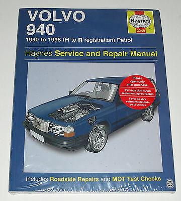 Reparaturanleitung Volvo 940 Limousine + Kombi, Baujahre 1990 - 1998 comprar usado  Enviando para Brazil