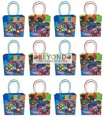 Transformers Goody Bags, Party Favor Goodie Bags Gift Bags Birthday Party - Transformers Birthday
