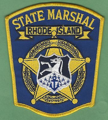 RHODE ISLAND STATE MARSHAL POLICE PATCH PATCH