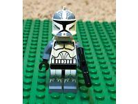 LEGO Star Wars Wolfpack Clone Trooper Minifigure w// Jetpack /& Gear 7964